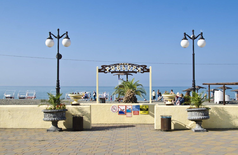 Пляжный отдых в сочи, пляж Ривьера