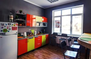 AYS Let It Snow Hostel кухня