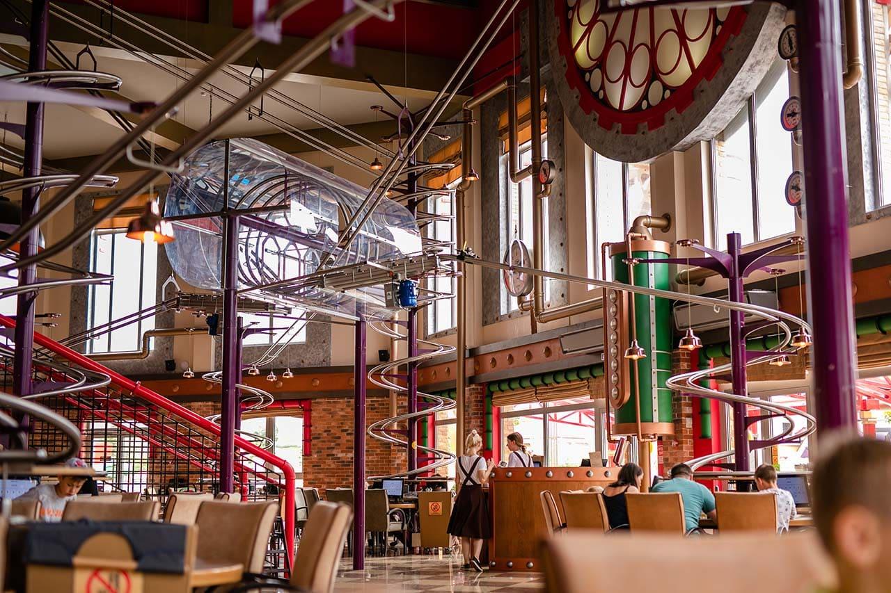 Сочи Парк, ресторан Американские горки