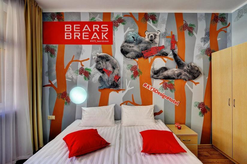 Номер в ays hotel design bears break